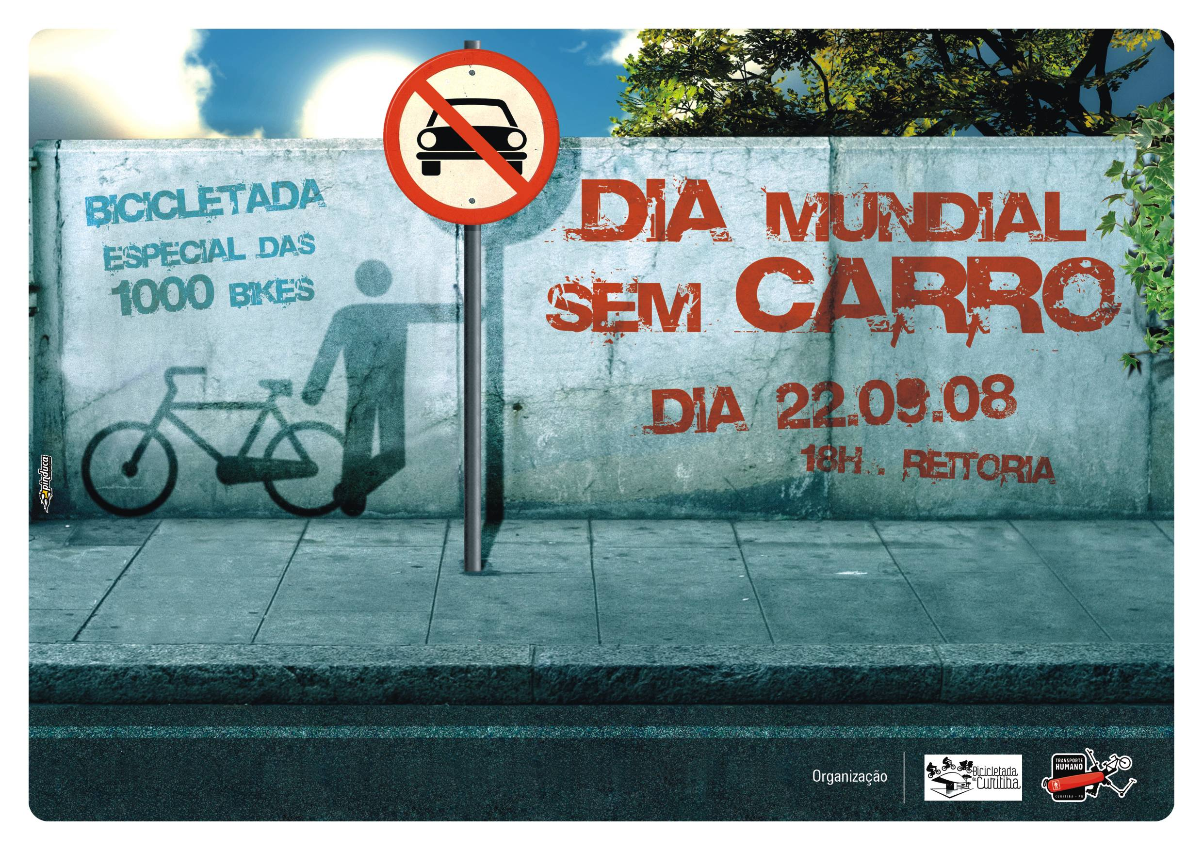 cartaz dia mundial sem carro menor Bicycle Month 2008   part II