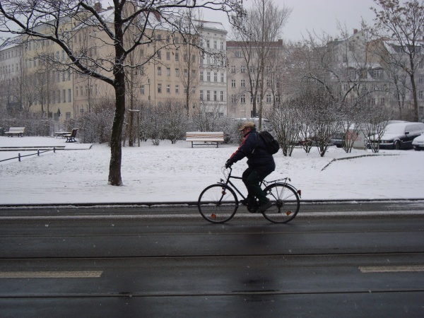 Neve em Berlim