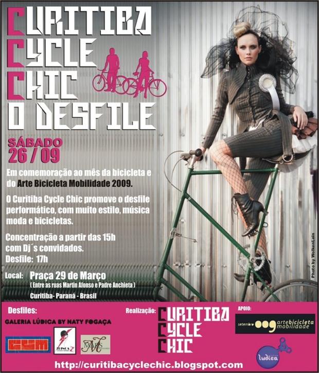 Curitiba Cycle Chic - o desfile